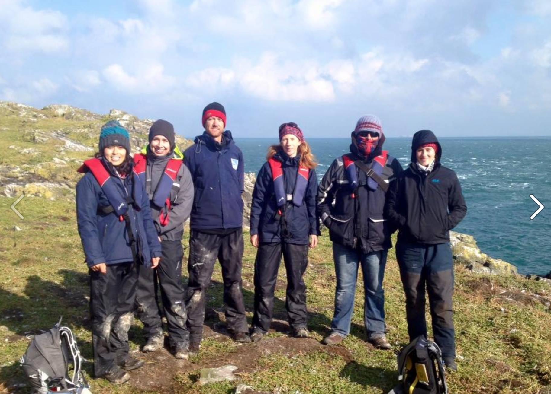 2016 gannet untangling team