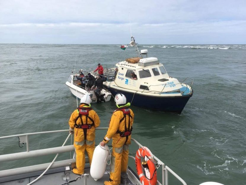 Thousand Islands Expeditions boat trips and ST Davids Lifeboat