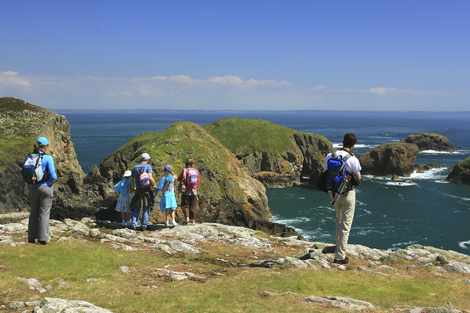 Ferry boat fees to land on Ramsey Island Pembrokeshire