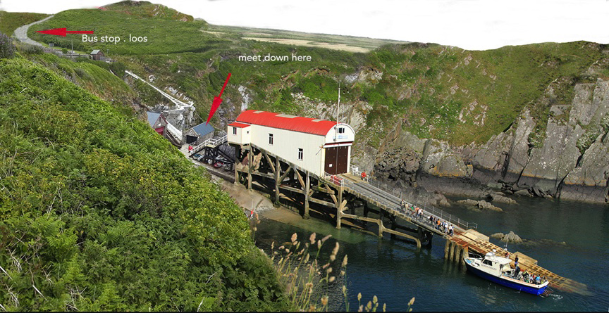St Justinians lifeboat station boat trips St Davids